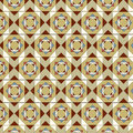 Seamless pattern geometric tiles earthtone colors abstract background Royalty Free Stock Photography