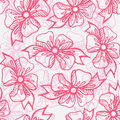 Seamless pattern with gift ribbons Royalty Free Stock Photography