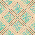 Seamless pattern with glyphs of the maya periods calendar names for your design Royalty Free Stock Image