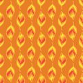 Seamless-pattern-of-gold-leaves