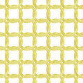 Seamless pattern with golden chains. Hand-drawn background. Vector illustration.