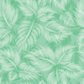 Seamless pattern with green leaf Stock Image