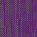 Seamless pattern with green and purple dots Stock Photo