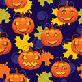 Seamless pattern of Halloween Stock Photos