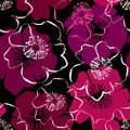 Seamless Pattern With Hand Dra...
