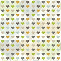 Seamless pattern with hearts Stock Image