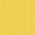 Seamless pattern. Honeycomb. Grid texture. Vector illustration. Scrapbook, gift wrapping paper, textiles. Abstract yellow simple Royalty Free Stock Photo