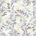 Seamless pattern with the image of branches of trees, superimposed on each other.