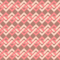 Seamless pattern of interlacing lines in retro style can be used to fabric design wallpaper decorative paper scrapbook albums web Stock Images