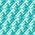 Seamless pattern of interlacing lines in retro style can be used to fabric design wallpaper decorative paper scrapbook albums web Stock Image