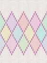 Seamless pattern knit woolen baby ornament texture fabric color tracery background Stock Image