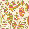 Seamless pattern with leaf abstract leaf texture endless backg background can be used for wallpaper fills web Stock Images