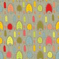 Seamless pattern with leaf autumn leaf background bright colored leaves Royalty Free Stock Photography