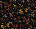 Seamless pattern leaf red orange yellow green brown tiny color l