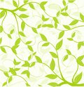 Seamless pattern of  leaves Stock Photo