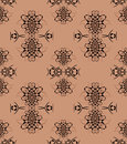 Seamless pattern light brown black Royalty Free Stock Photo