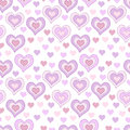 Seamless pattern with light pink hearts for textiles interior design for book design website background Royalty Free Stock Image