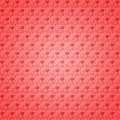 Seamless pattern light red hearts Royalty Free Stock Photo