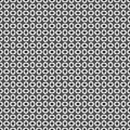 Seamless pattern of lines and circles. Geometric wallpaper. Unus