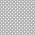 Seamless pattern of lines circles and rhombuses. Geometric strip