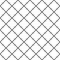 Seamless pattern of lines. Geometric wallpaper. Islamic oriental