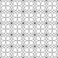 Seamless pattern of lines. Geometric wallpaper. Unusual lattice.