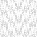 Seamless pattern of lines. Geometric wavy wallpaper. Unusual lat