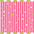 Seamless pattern with little hearts Stock Images