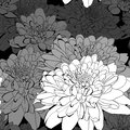 Seamless pattern with a lot of flowers Royalty Free Stock Photos