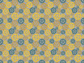 Seamless pattern made gears Royalty Free Stock Photography