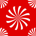 Seamless pattern made white swirls spirals red background Royalty Free Stock Photo