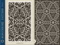 Seamless Pattern-monochrome 1 Stock Images