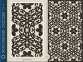 Seamless Pattern-monochrome 16 Stock Photography
