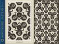 Seamless Pattern-monochrome 2 Royalty Free Stock Photo