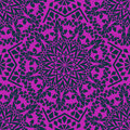 Seamless pattern of moroccan mosaic purple Stock Photography