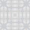 Seamless pattern in Moroccan style. Mosaic tile. Islamic traditional ornament. Royalty Free Stock Photo