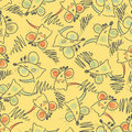 Seamless pattern - mouse Royalty Free Stock Photos