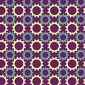 Seamless pattern from multicolored gears Royalty Free Stock Photography