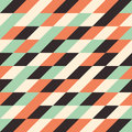 Seamless pattern with multicolored rhombuses. Royalty Free Stock Photo