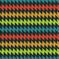 Seamless pattern with multicolored zigzag Royalty Free Stock Image