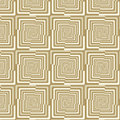 Seamless pattern with multiple rectangles vintage colors repeating op art background Royalty Free Stock Photos