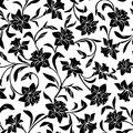Seamless pattern with narcissus flowers. Vector illustration.