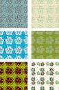 Seamless pattern pack Stock Photos