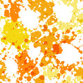Seamless pattern with paint splashes Royalty Free Stock Photo