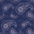 Seamless pattern paisley based on traditional asian elements Stock Photography