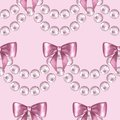 Seamless pattern with pearls 3