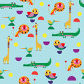 Seamless pattern, perfect set vector illustration in cartoon sty