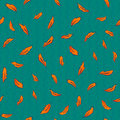 Seamless Pattern With Phoenix Royalty Free Stock Photo