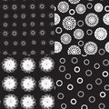 Seamless Pattern Polka Dot Tex...
