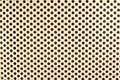 Seamless pattern of polka dot on the white background